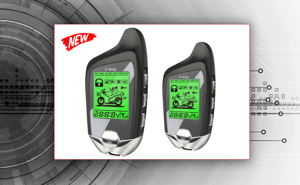 2-way car alarm Tiger Moto Expert-PRO